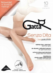 Gatta Senza Dita 10 den rajstopy