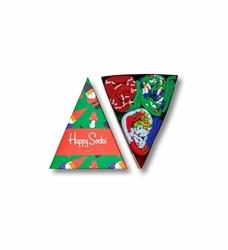 Giftbox 3-pack Skarpety Happy Socks - XMAS08-7003