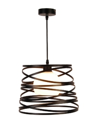 Lampa wisząca akita czarny - czarny