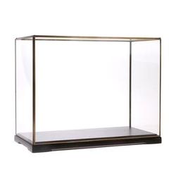 Hk living :: kwadratowa szklana kopuła rozmiar l czarna