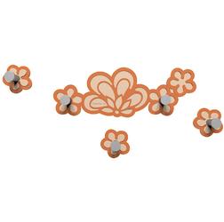 Wieszak ścienny Merletto CalleaDesign terakota  pomarańczowy 56-13-1-24