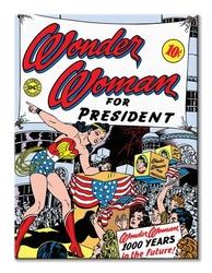 Wonder woman for president  - obraz na płótnie