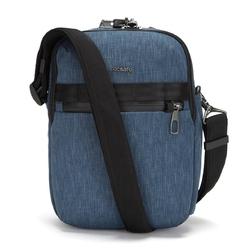 Pacsafe metrosafe x vertical crossbody dark denim torba miejska dla mężczyzn - niebieski