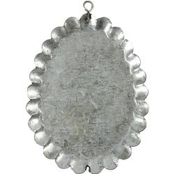 Metalowa zawieszka do zdobienia 9,8x7,5 cm