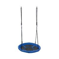 Huśtawka ogrodowa bocianie gniazdo 100cm 150kg niebieska