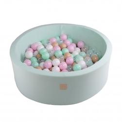 Suchy basen dla dziecka 90x30 cm + 250 piłek - cupcake