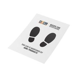 Adbl car-pets – papierowe maty ochronne na dywaniki, 100 sztuk