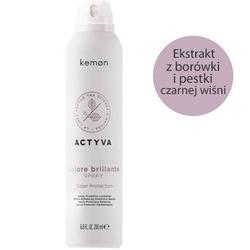 Kemon actyva colore brillante spray do włosów farbowanych 200ml