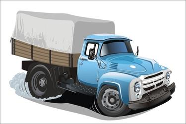 Fototapeta dla dzieci ciężarówka 1533