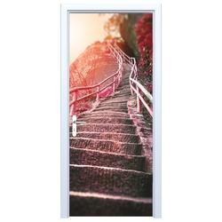 Fototapeta na drzwi schody 718a