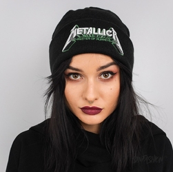 Czapka amplified beanie metallica