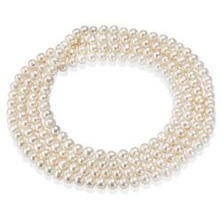 Staviori naszyjnik sznur pereł 120cm i 150cm. naturalne perły hodowlane słodkowodne