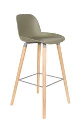 Zuiver stołek barowy albert kuip zielony 1500062