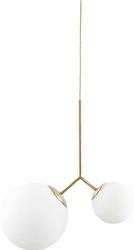 Lampa Twice mlecznobiałe klosze