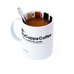 Kubek smakosza kawy