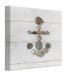 Stone anchor - obraz na płótnie