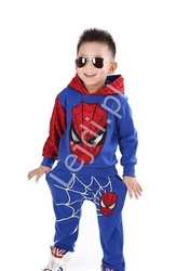 Niebiesko czerwony dres chłopięcy spider man 738