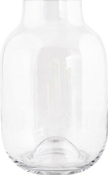Wazon shaped 32,5 cm transparentny