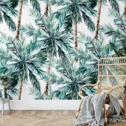 Tapeta na ścianę - coconut palms , rodzaj - tapeta flizelinowa