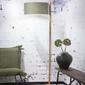 Goodmojo :: lampa podłogowa drewniana himalaya 47x23cm zielona