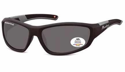 Sportowe okulary czarne z polaryzacją montana sp311