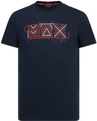 Koszulka aston martin red bull max verstappen granatowa - granatowy