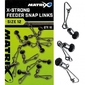 Łącznik matrix x-strong feeder bead snap links - 12