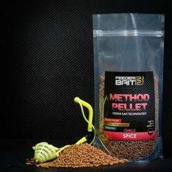 Method Pellet Feeder Bait Spice Chilli 4mm 800g