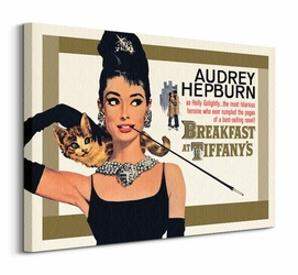 Audrey Hepburn, Holly Golightly - obraz na płótnie