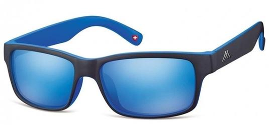 Okulary klasyczne montana ms27a niebieskie revo
