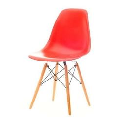 Krzesło ogrodowe tunis wood czerwone
