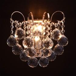Kinkiet ścienny kolor złoty z kryształkami pearls mw-light crystal 232028101