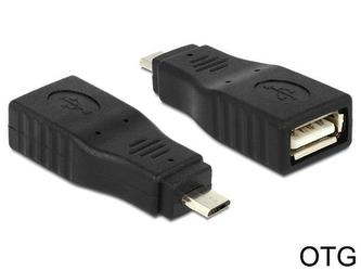 Delock Adapter USB Micro BM-AF OTG