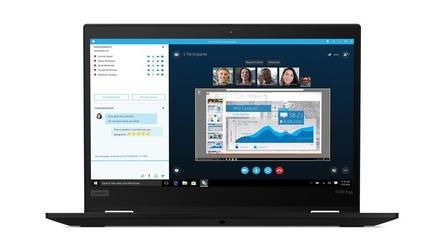 Lenovo ultrabook thinkpad x390 yoga 20nn0037pb w10pro i7-8565u16gb512gbintlte13.3 fhdtouchblack3yrs os