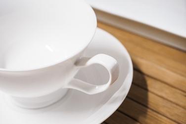 Filiżanka porcelanowa 190 ml ze spodkiem