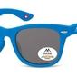 Okulary dziecięce nerdy  montana 967c polaryzacyjne matowe niebieskie