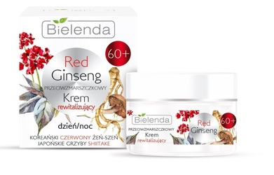 Bielenda red ginseng 60+ przeciwzmarszczkowy krem rewitalizujący na dzień i noc 50ml