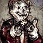 Legends of bedlam - vault boy, fallout - plakat wymiar do wyboru: 40x50 cm