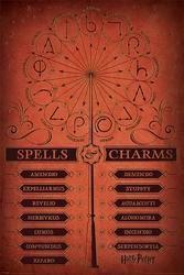 Harry Potter Czary i Zaklęcia - plakat filmowy