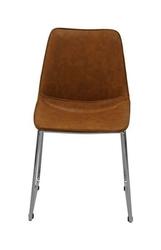 Krzesło femiks brązowe ekoskóra