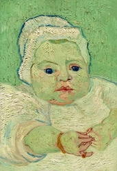 Roulins baby, vincent van gogh - plakat wymiar do wyboru: 70x100 cm