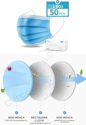 Niebieska maska antywirusowa  antybakteryjna ffp1 3w+95 - potrójna warstwa 10 sztuk