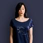 Dinozalr t-shirt damski granatowy xxl