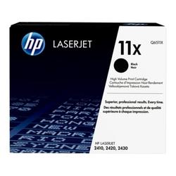 Hp 11x oryginalny wkład z czarnym tonerem laserjet xl