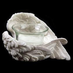 Skrzydła anioła - świecznik, wzór 2