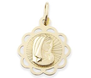 Medalik z wizerunkiem matki bożej - 48572