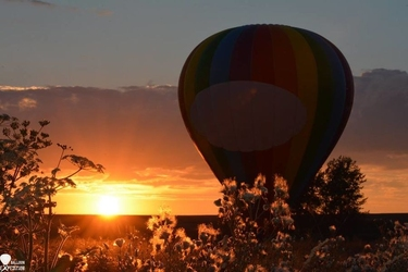 Romantyczny lot balonem dla dwojga - vip - opole