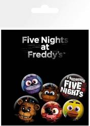 Five Nights at Freddys - przypinki