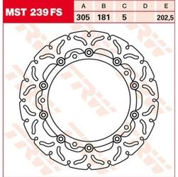 Trw tarcza hamulcowa trw mst239fs bmw k 1200 lt ab