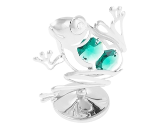 Figurka swarovski - żaba prezent dedykacja